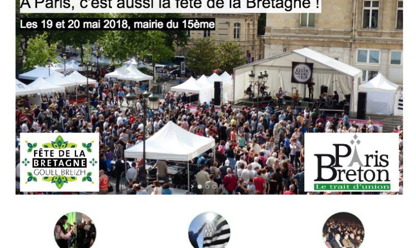 Un nouveau site web pour Paris Breton