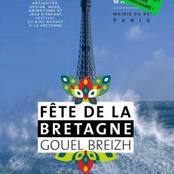 LA FÊTE DE LA BRETAGNE PAR PARIS BRETON MAIRIE DU 15ème16 & 17 Mai 2020 – ANNULATION